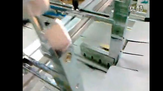视频: 中连机械糊盒机糊780大卡纸盒生产现场视频